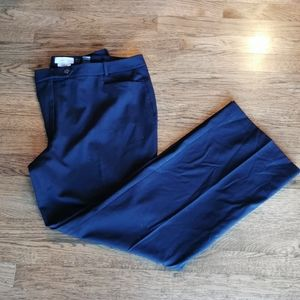 Calvin Klein Dress Pants Straight Leg Black 16